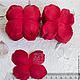 100 шт Лепестки розы красные My Thai Материалы для флористики из Таиланда