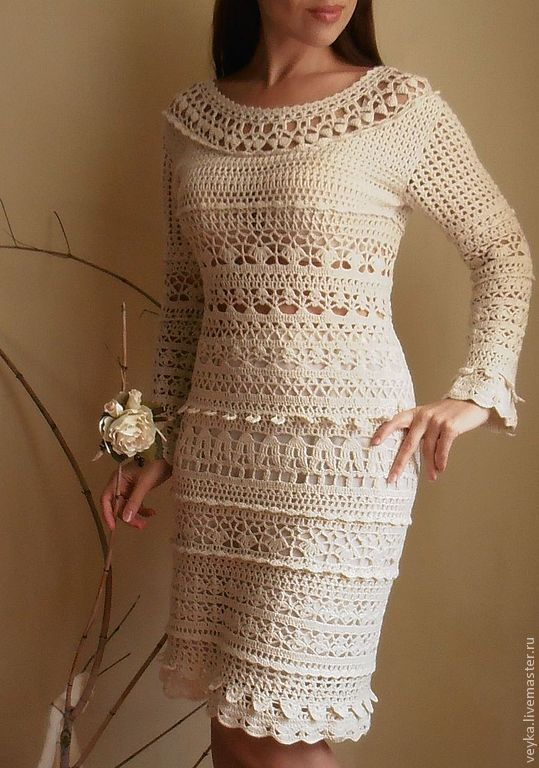 Dress Crochet Rendezvous Shop Online On Livemaster With Shipping