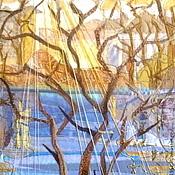 """Картины и панно ручной работы. Ярмарка Мастеров - ручная работа Панно """"Ностальгия"""". Handmade."""