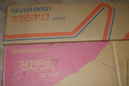 Вязание ручной работы. Ярмарка Мастеров - ручная работа. Купить вязльная машинка:3 класса Silver Reed SK-155 SR 150. Handmade.