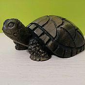 Для дома и интерьера handmade. Livemaster - original item Sculpture of natural stone Turtle. Handmade.