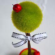Цветы и флористика ручной работы. Ярмарка Мастеров - ручная работа Мини-топиарий Белоснежка. Handmade.