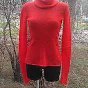 """Одежда ручной работы. Ярмарка Мастеров - ручная работа Мохеровый свитер """"Red"""". Handmade."""