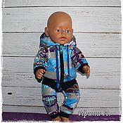 """Одежда для кукол ручной работы. Ярмарка Мастеров - ручная работа Комплект  """" Я-мальчик"""" для куклы Беби Бон.. Handmade."""