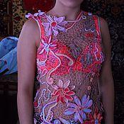 Одежда handmade. Livemaster - original item top Lotus Flower. Handmade.