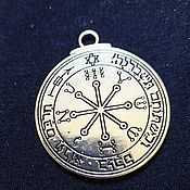 Фен-шуй и эзотерика handmade. Livemaster - original item Silver pentacle of Solomon, the Seal of the Winner. Handmade.