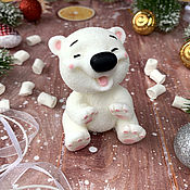 Косметика ручной работы handmade. Livemaster - original item Soap gift Bear giggler. Handmade.