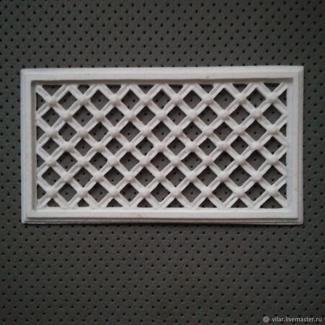 Решетка прямоугольная, Декор для декупажа и росписи, Балашиха,  Фото №1