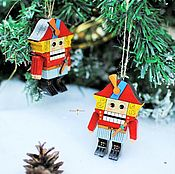 Подарки к праздникам handmade. Livemaster - original item Christmas tree toy
