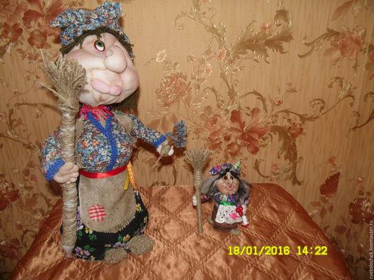 Сказочные персонажи ручной работы. Ярмарка Мастеров - ручная работа. Купить бабуси-ягуси. Handmade. Синий, ручная работа, куклы