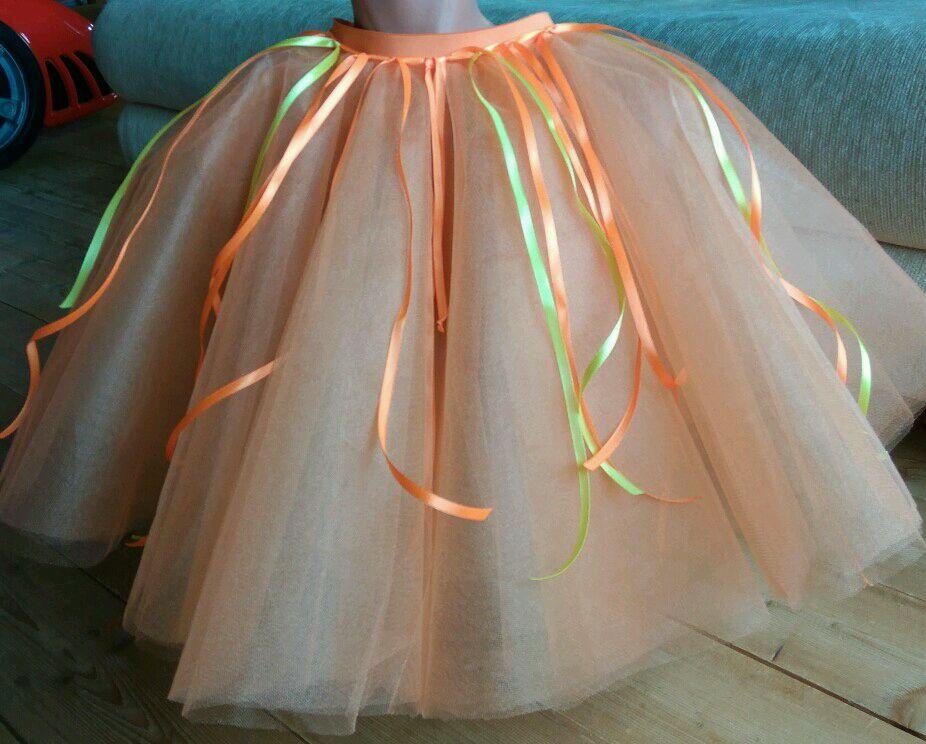 Пошив пышной юбки из фатина