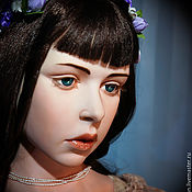 Куклы и игрушки ручной работы. Ярмарка Мастеров - ручная работа Мишель 95 см. Handmade.