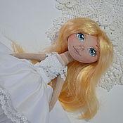 Куклы и игрушки ручной работы. Ярмарка Мастеров - ручная работа Куколка невеста. Handmade.