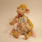 Куклы и игрушки ручной работы. Ярмарка Мастеров - ручная работа Игрушка обезьянка Малышка Лили-символ 2016 г. Handmade.