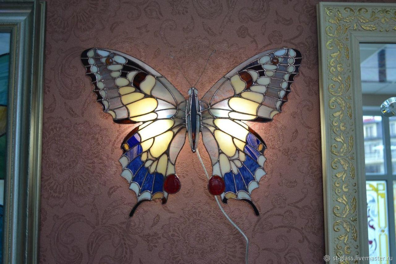 Светильник ночник Бабочка, Витражи, Пятигорск, Фото №1