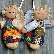 Куклы и игрушки ручной работы. Ярмарка Мастеров - ручная работа Ангелочки лоскутные.... Handmade.