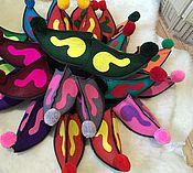 Обувь ручной работы. Ярмарка Мастеров - ручная работа Султанки из войлока женские и мужские. Handmade.