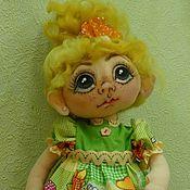 Куклы и игрушки ручной работы. Ярмарка Мастеров - ручная работа Текстильная кукла Кукляша. Handmade.