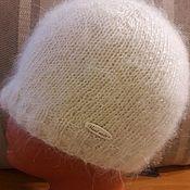 Шапки ручной работы. Ярмарка Мастеров - ручная работа Шапка из козьего пуха. Handmade.