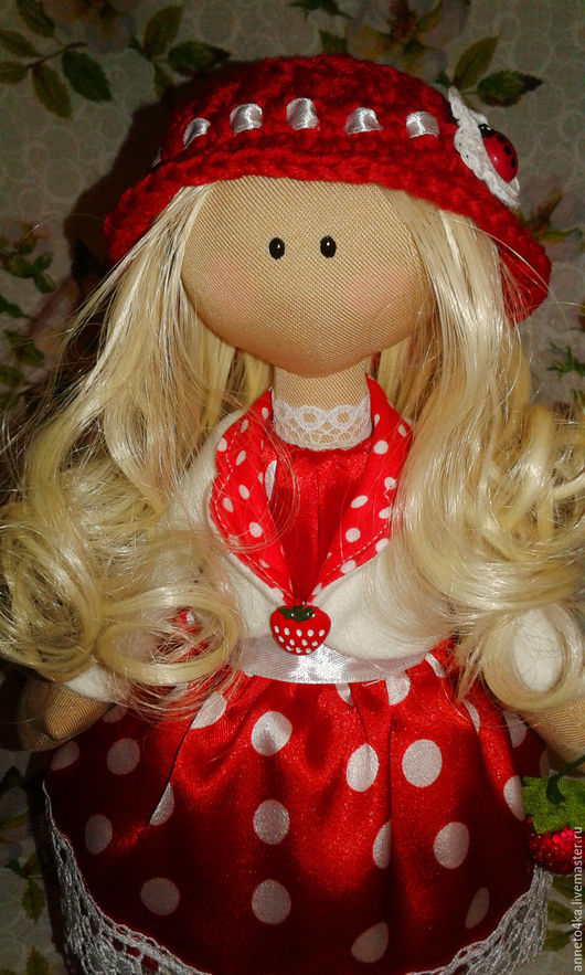 Куклы тыквоголовки ручной работы. Ярмарка Мастеров - ручная работа. Купить Тильда кукла тыквоголовка Малышка Ягодка)) Исполнительница желаний)). Handmade.