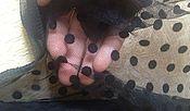 Материалы для творчества ручной работы. Ярмарка Мастеров - ручная работа Горошек - сетка вуаль. Handmade.