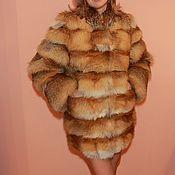 Одежда handmade. Livemaster - original item Fur jacket Fox. Handmade.