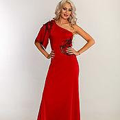 Одежда handmade. Livemaster - original item red evening dress. Handmade.