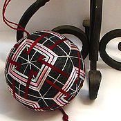 """Сувениры и подарки ручной работы. Ярмарка Мастеров - ручная работа Темари """"Геометрия в цвете"""". Handmade."""