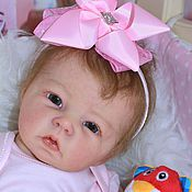 Куклы и игрушки ручной работы. Ярмарка Мастеров - ручная работа кукла реборн Ася. Handmade.