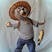 """Куклы и игрушки ручной работы. Ярмарка Мастеров - ручная работа Игрушка из шерсти """"Счастье есть!!!"""". Handmade."""