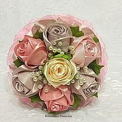 """Свадебные букеты ручной работы. Ярмарка Мастеров - ручная работа Букет дублер невесты """"Пепел розы"""". Handmade."""