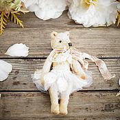 Куклы и игрушки ручной работы. Ярмарка Мастеров - ручная работа мишка-тедди Анна. Handmade.