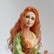 Куклы и игрушки ручной работы. Ярмарка Мастеров - ручная работа авторская кукла Хозяйка леса. Handmade.