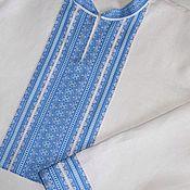 Русский стиль ручной работы. Ярмарка Мастеров - ручная работа Рубаха ( ткань Лебёдушка). Handmade.