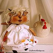 Куклы и игрушки ручной работы. Ярмарка Мастеров - ручная работа Текстильная кукла. Оленёнок Дарёна 42см.. Handmade.