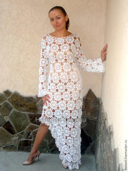"""Платья ручной работы. Ярмарка Мастеров - ручная работа. Купить Платье """"Волшебство кружев"""". Handmade. Белый, нарядное платье, подарок"""