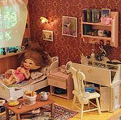 """Куклы и игрушки ручной работы. Ярмарка Мастеров - ручная работа Румбокс """"Спальня"""" 1/12-1/8 РАЗНЫЕ!. Handmade."""