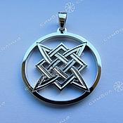 Русский стиль handmade. Livemaster - original item Amulet Star Of Russia. Handmade.