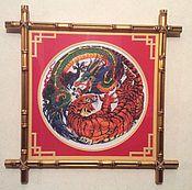 Картины и панно ручной работы. Ярмарка Мастеров - ручная работа Инь и Янь. Handmade.