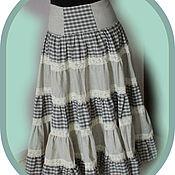Одежда ручной работы. Ярмарка Мастеров - ручная работа бохо-юбка. Handmade.