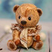 Куклы и игрушки ручной работы. Ярмарка Мастеров - ручная работа Мишка-тедди Пряник. Handmade.