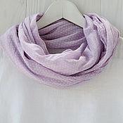 Аксессуары handmade. Livemaster - original item Cotton scarf-handkerchief with small polka dots. Handmade.