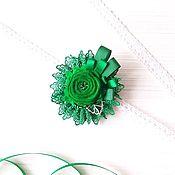 """Brooches handmade. Livemaster - original item Brooch """"Emerald"""". Handmade."""