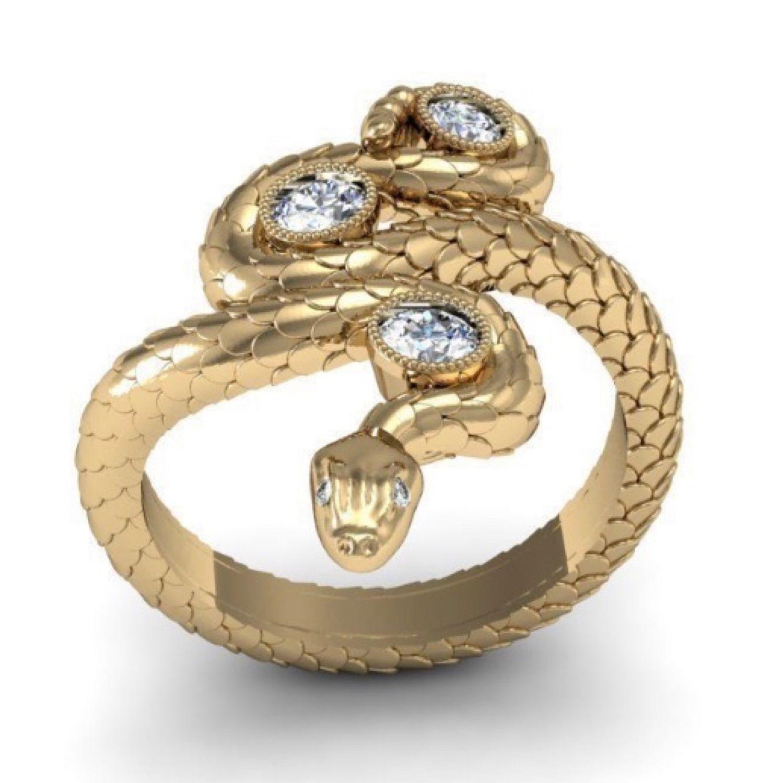 кольцо змейка картинки помощи молодой женщине