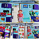 Book-Dollhouse for a boy. Cubes and books. market13salnik. Online shopping on My Livemaster.  Фото №2