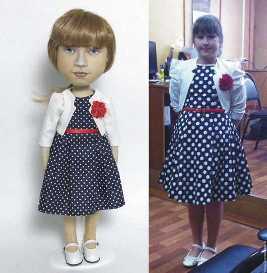 Портретные куклы ручной работы. Ярмарка Мастеров - ручная работа. Купить Кукла с портретным сходством.. Handmade. Кукла ручной работы