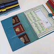 Сумки и аксессуары handmade. Livemaster - original item Organizer for documents. Handmade.