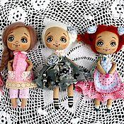 Куклы и игрушки ручной работы. Ярмарка Мастеров - ручная работа Карманные игровые куколки. Цена за одну 950 р. Handmade.
