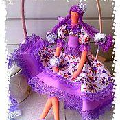 Куклы и игрушки ручной работы. Ярмарка Мастеров - ручная работа Прованс_Лавандовая Фея_кукла в стиле Тильда. Handmade.