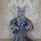Волк самурай, серебристый волк, японский фольклор, волк защитник